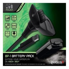 Price Xbox 360 Gioteck Bp 1 Battery Pack Gioteck New