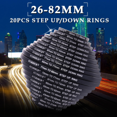 Compare Xcsource 20Pcs 26 30 37 43 52 55 62 67 72 77 82Mm Step Up Down Ring Filter Uv Set Dc162 Intl Prices