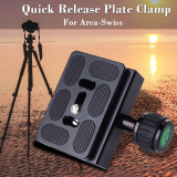 Best Price Xcsource Clamp Quick Release Plate For Arca Swiss Benro B 1 J1 Tripod Ball Head Dc463