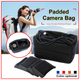 Best Reviews Of Xcsource Insert Padded Camera Bag Dslr Lens Inner Divider Partition Protect Case Pouch Black Lf677