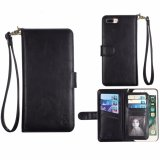 Cheapest Xhleia Handcrafted Multi Function Detachable Magnetic Separable Removable Vegan Leather Wallet Flip Cover Case With Credit Card Holder For Apple Iphone 6 6S 4 7 Intl