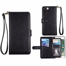 Buy Cheap Xhleia Handcrafted Multi Function Detachable Magnetic Separable Removable Vegan Leather Wallet Flip Cover Case With Credit Card Holder For Apple Iphone 6 6S 4 7 Intl