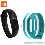 Xiaomi 42 Oled Touch Screen Mi Band 2 Smart Bracelet 3 Colors Replace Band Intl Promo Code