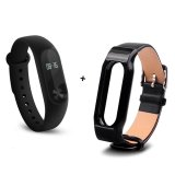 Price Comparison For Xiaomi 42 Screen Mi Band 2 Smart Wristband Replace Band Black