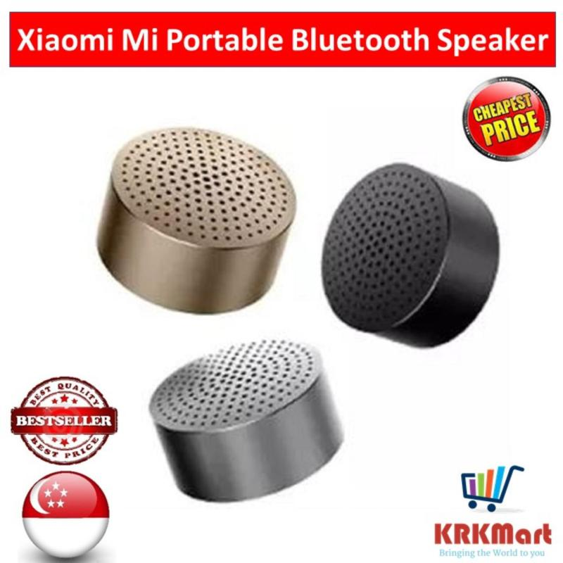 Xiaomi Mi Portable Mini Best Bluetooth 4.0 Speaker (Grey / Gold) Singapore