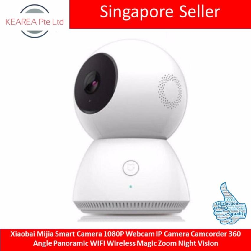 Wholesale Xiaomi Mijia Xiaobai Smart Camera 1080P Webcam Ip Camera Camcorder 360 Angle Panoramic Wifi Wireless Magic Zoom Night Vision
