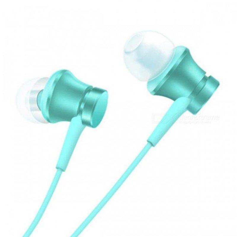 Xiaomi Piston Style 3.5mm Wired Earbud Earphone w/ Microphone - Blue - intl Singapore