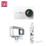 Retail Xiaomi Yi Ii Wi Fi 4K 2 19 Touch Sports Camera 2 Diving Set White