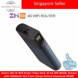 Xiaomi Zmi 4G Wifi Router Power Bank 3G 4G Mifi Mobile Hotspot With 10000Mah Qc2 Fast Charge Battery Powerbank Mf885 Lowest Price