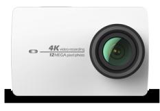 Coupon Xiaoyi Yi 4K Action Camera 2 Kit White International English Version