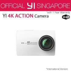 Price Xiaoyi Yi 4K Action Camera 2 White International English Version On Singapore