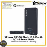 Review Xpower Pb10Q Qualcomm Quick Charge 3 Powerbank 10000Mah With Bi Directional Quick Charge Black Xpower On Singapore