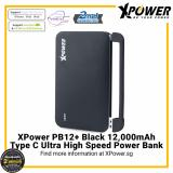 Where Can I Buy Xpower Pb12 12000Mah Powerbank With 3 Removable Cable Mfi Lightning Cable Micro Usb Cable And Usb Type C Cable Black Black 10001 15000Mah