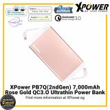 Xpower Pb7Q2G 7000Mah Qualcomm Quick Charge 3 Powerbank Rose Gold Deal