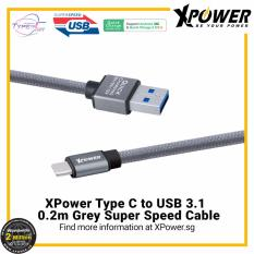 Retail Xpower Xp Tcun0 2 2M Type C To Usb3 1 Cable Grey
