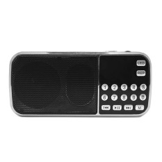 Review Y 501 Mini Fm Radio Digital Portable 3W Stereo Speaker Mp3 Audio Player High Fidelity Sound Quality W 75 Inch Display Screen Led Flashlight Support Usb Drive Tf Card Aux In Earphone Out Intl Not Specified