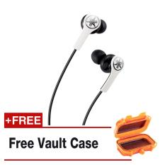 Shop For Yamaha Eph M100 Earphones With Mic White Free Vault Case