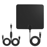 Ybc Indoor Hd Digital Tv Antenna With 50 Miles Long Range Amplifier 10Ft Coax Cable Intl On China