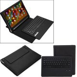 Low Price Ybc Portable Bluetooth Keyboard With Pu Leather Cover For Lenovo Yoga Tab 3 Pro 10 1 Intl