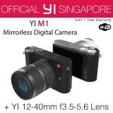 Review Yi M1 Mirrorless Digital Camera With 12 40Mm F3 5 5 6 Lens Storm Black International Edition Singapore