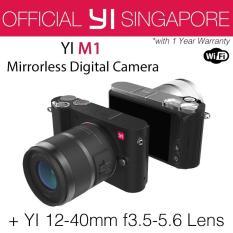 Sale Yi M1 Mirrorless Digital Camera With 12 40Mm F3 5 5 6 Lens Storm Black International Edition Online On Singapore