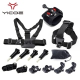 Who Sells Kit Case Tripod Strap Mount Monopod For Go Pro Accessories For Go Pro Hero Session 6 5 4 3 Sj Cam Sj6 Sj7 Xiao Mi Yi 4K Mijia Sport Camera Accessories The Cheapest