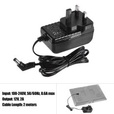Sale Yongnuo 12V 2A Standard Power Adapter With Uk Plug Wide Voltage 100 240V For Yongnuo Yn300Iii Yn216 Yn1410 Yn300Air Yn160Iii Yn168 Yn360 Video Light Intl Online On Singapore