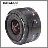 Buy Yongnuo Yn 35Mm F 2 Lens For Nikon F Dslr Cheap On Singapore