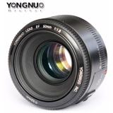 Yongnuo Yn 50Mm F 1 8 Lens For Nikon F Dslr Yongnuo Cheap On Singapore