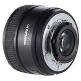 Compare Yongnuo Yn50Mm F1 8 Large Aperture Af Auto Focus Fx Dx Full Frame Lens For Nikon Intl Prices