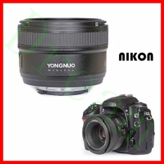 Low Cost Yongnuo Yn50Mm F1 8 Standard Prime Lens Large Aperture Auto Manual Focus Af Mf Intl