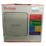 Best Deal Yoobao Yb M4 10400Mah Dual Usb 2A Input With Led Light White