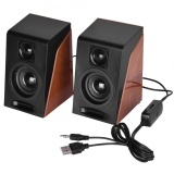 Review Justgogo Mini Usb Wired Stereo Speaker Systems For Laptop Pc On China