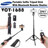 Best Deal Yunteng Vct 1688 2 In 1 Portable Mini Selfie Monopod And Tripod With Bluetooth Remote Controller