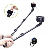 Best Reviews Of Yunteng Yt 188 85 48 42Inch Selfie Stick Bluetooth Remote Extendable Monopod