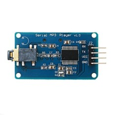 YX5300 UART TTL Serial Control MP3 Music Player Module Support MP3/WAV  Micro SD/SDHC Card For Arduino/AVR/ARM/PIC 3 2-5 2V DC - intl