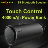 Low Price S8 Portable Wireless Bluetooth Speaker Hifi Stereo Touch Control 3D Surround Handsfree Sound Box With Subwoofer Support Tf Card Aux Black