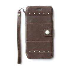 Zenus Bohemian M Diary Two Tone Lamb Real Leather Wallet Cover Case For Apple Iphone 6 Plus 5 5 Tan Brown Export Intl Online