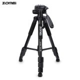 Review Zomei Q111 56 Inches Lightweight Professional Camera Video Aluminum Tripod With Bag Black On China