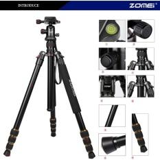 Best Rated Zomei Q666 Camera Tripod Aluminum Ball Head For Slr Dslr Camera Black Intl