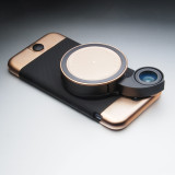 Ztylus Metal Case For Iphone 6 6S Rose Gold Limited Edition With Rv 2 V2 Revolver Lens Combo Deal