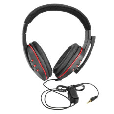 Zuncle Gaming Headset Headphones W Microphone Voice Control For Ps4 Black Red 3 5Mm Plug 120Cm Intl For Sale