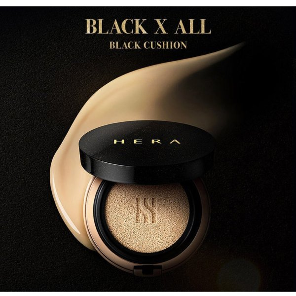 Buy [Hera] Black Cushion - SPF 34/ PA+ ( 2x15g / Refill ) Singapore