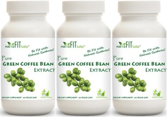 Natrafit Labs™ Pure Green Coffee Bean Extract Vegetarian Capsules Promo Pack Sale