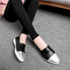 Review 2016 Women Pregnant Shoes Work Shoes Flats Loafers Slip On Women S Flat Shoes Black Cyou