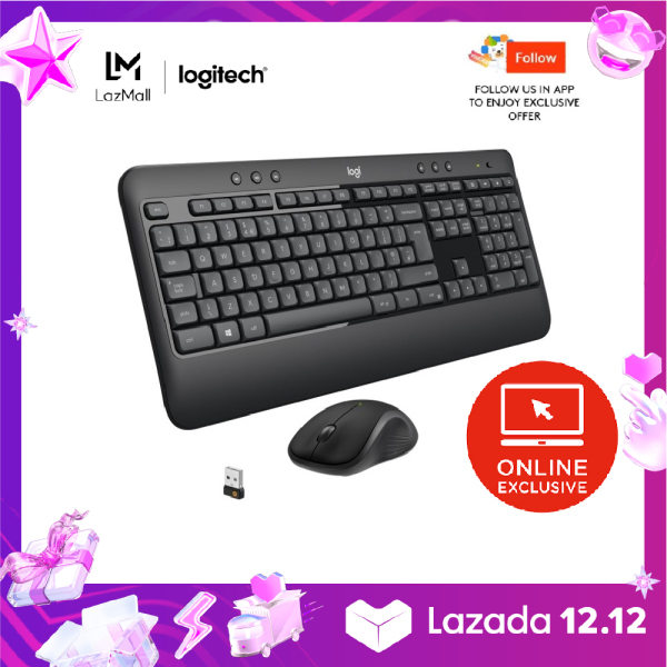 Logitech MK540 Advanced Wireless Keyboard and Mouse