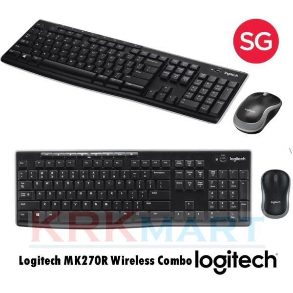 (ready Stock) Logitech MK270R Wireless Combo Singapore
