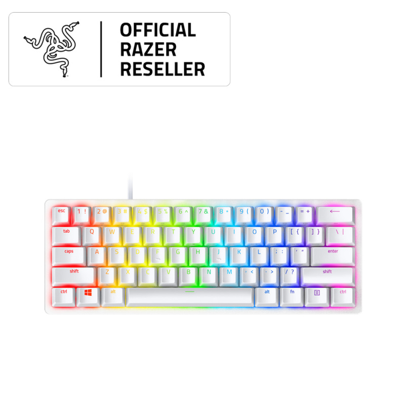 Razer Huntsman Mini - 60% Optical Gaming Keyboard (Linear Red Switch) - FRML Packaging Singapore