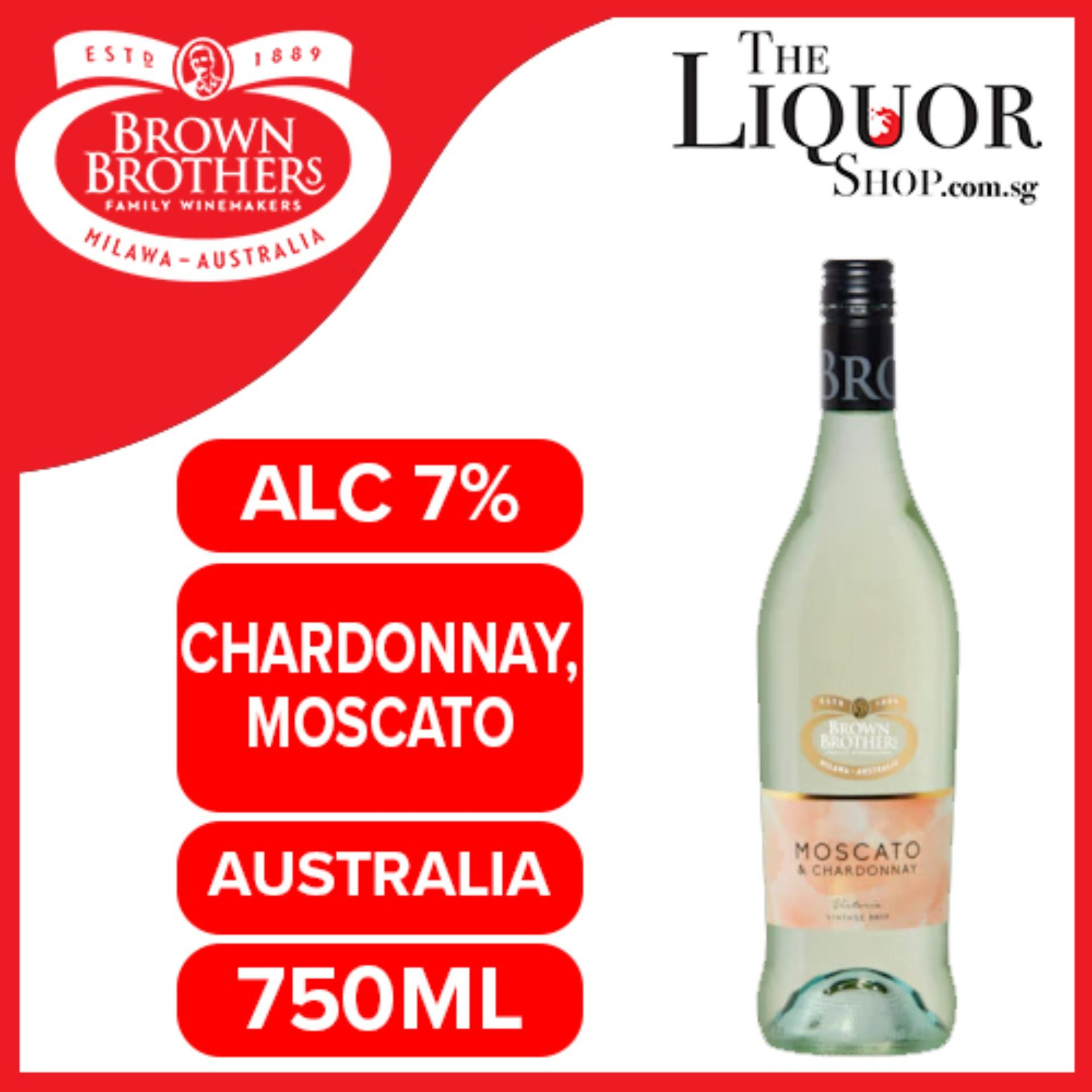 Brown Brothers Moscato & Chardonnay 750ml By The Liquor Shop.