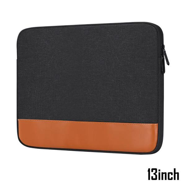 13inch Laptop Sleeve with Soft inner felt padding, MacBook Asus, Dell, Acer, HP, FMBN laptop cover 13.3